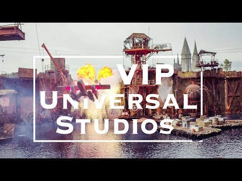 VIP Experience at Universal Studios Hollywood | WHY you NEED to Go | 4K