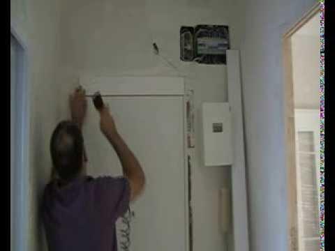 Como poner el tapajuntas a una puerta youtube - Como colocar puertas correderas ...