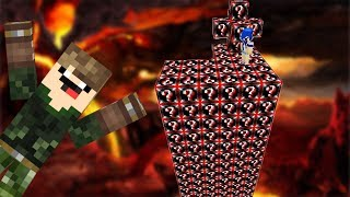 NOVO LUCKY BLOCK do MAL... (ILHA LUCKY BLOCK MINECRAFT)