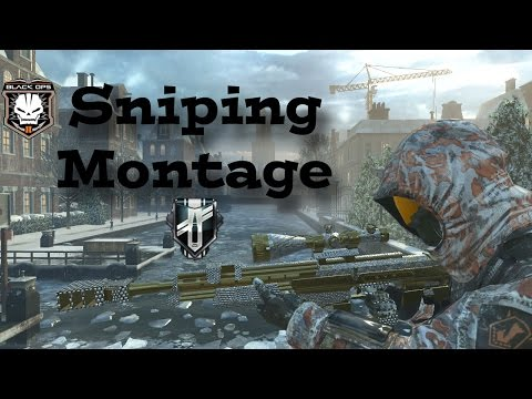 My Best Black Ops 2 Sniping Montage - Xbox One Gameplay - Remastered?
