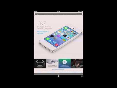 Coast (le navigateur d'Opera sur iPad)