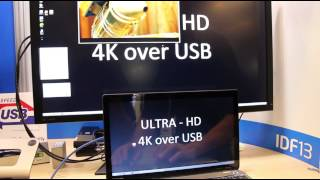 DisplayLink shows 4K Ultra HD over USB 3.0...and USB 2.0