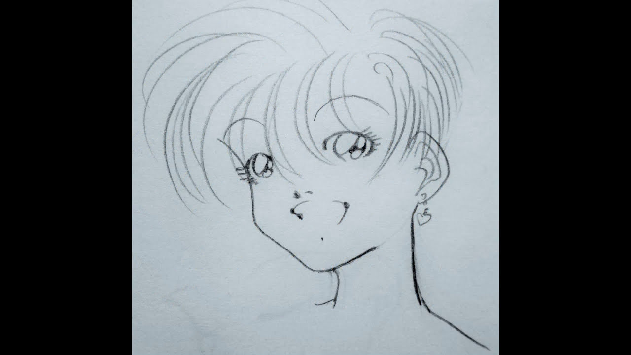 Disegni manga originali a matita 10