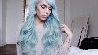 How to - Minty Blue Mermaid Hair | Saline