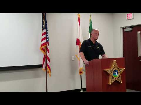 Pinellas Sheriff Speaks Out For First Time Since Shooting