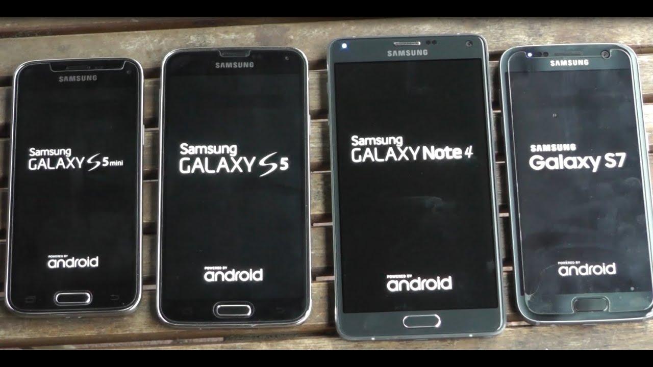 samsung galaxy s7 vs note 4 vs s5 vs s5 mini benchmark. Black Bedroom Furniture Sets. Home Design Ideas