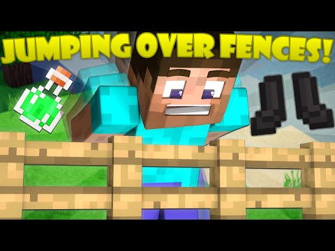 Why You Can't Jump Over Fences - Minecraft