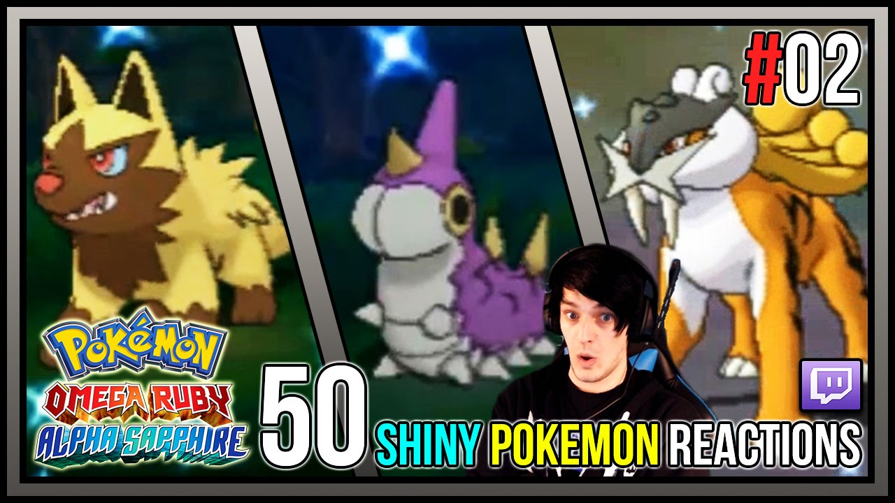 how to get shiny pokemon in omega ruby
