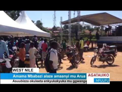 Amama Mbabazi alaze amaanyi mu Arua