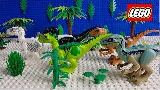 Lego Stop Motion Animation  Lego Jurassic World Lockwood Estate