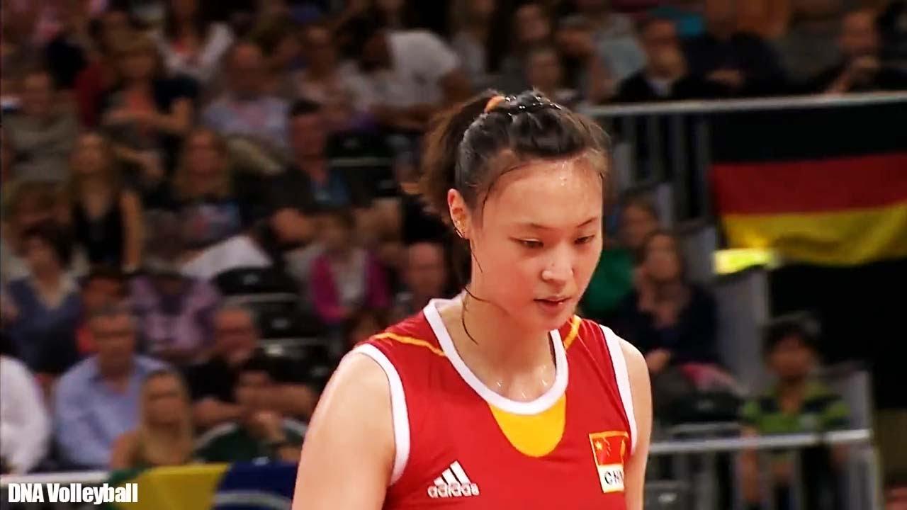 ฮุย รั่วฉี vs ญี่ปุ่น โอลิมปิก 2012 Hui Ruoqi (惠若琪) vs japan volleyball olympics