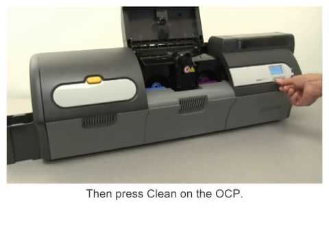 Zebra ZXP Series 7 How-To: Clean the Laminator Card Path