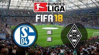 FIFA 18 Bundesliga FC Schalke 04 : Borussia Mönchengladbach | Gameplay Deutsch Livestream