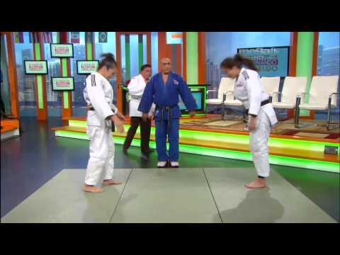 Fernando Hidalgo aprende judo