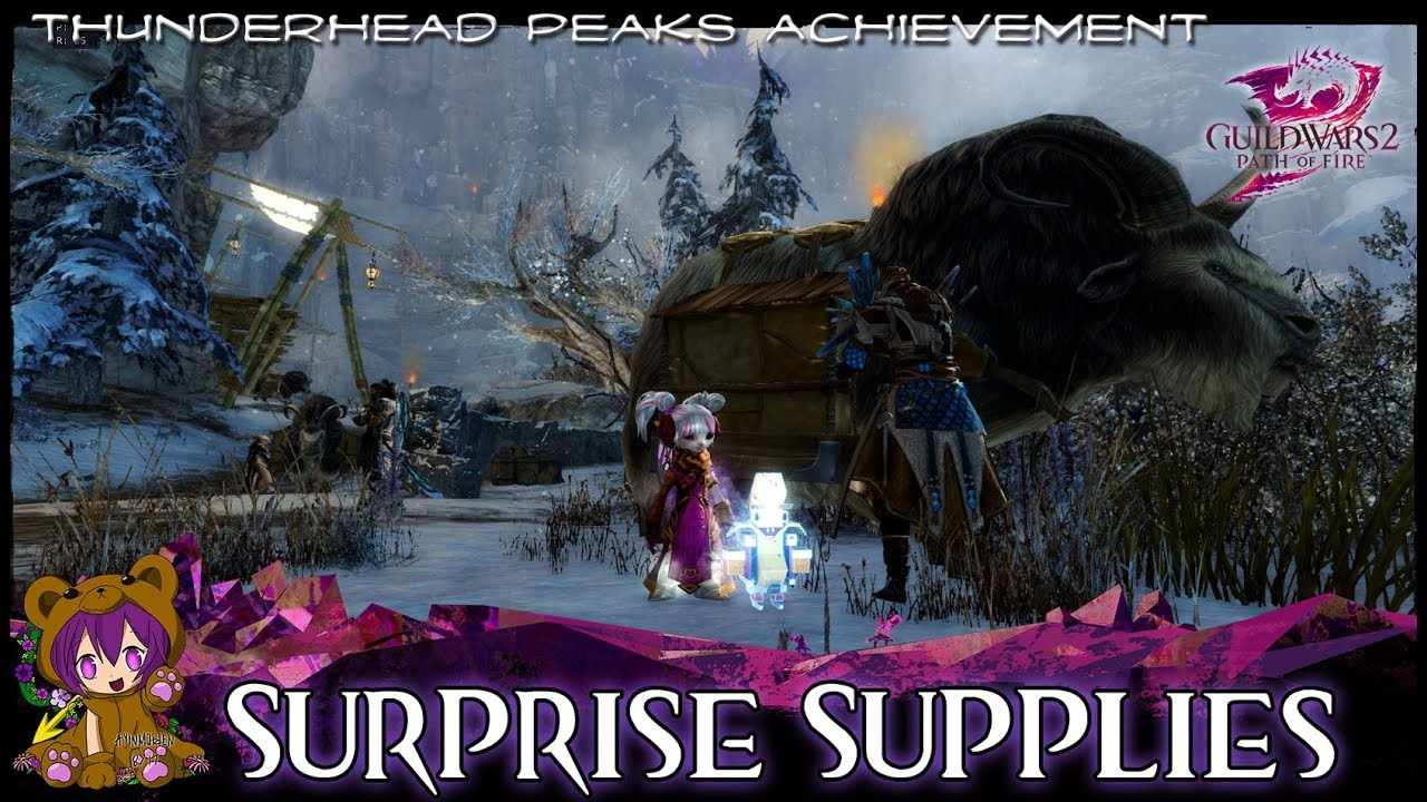 GW2 - Surprise Supplies achievement