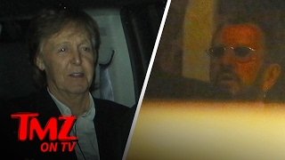 Nothing To See Here, Just a Huge Group of Rock Legends Out to Dinner Together | TMZ TV