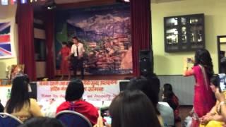 surke thaili khai    स र क थ ल ख    woda number 6    nepali movie song dashain party derby uk