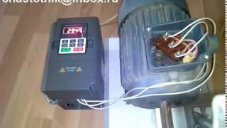 Частотний перетворювач 4 кВт 220В