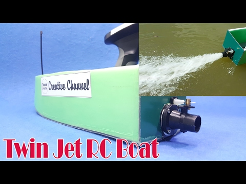 How to make Jet RC Boat - Powerful Mini Turbo RC Boat