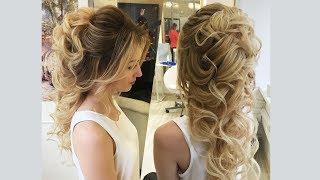 Как сделать греческую косу из локонов назад? Урок по свадебным прическам от стилиста Элен Мартиросян