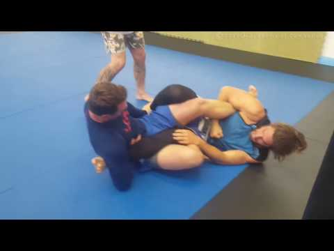 Academy of Combat: Sam Holdaway No Gi Showdown Under 85kg Blue Belt Final