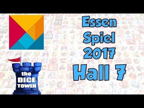 Hall 7 at Essen Spiel 2017