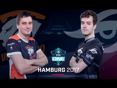 Virtus.pro vs. Team Secret - ESL One Hamburg 2017 G1