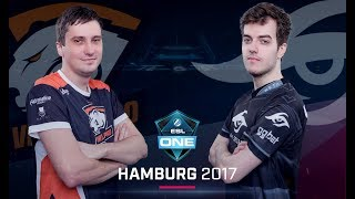Dota 2 - Virtus.pro vs. Team Secret - Game 1 - Grand Final - ESL One Hamburg Major 2017