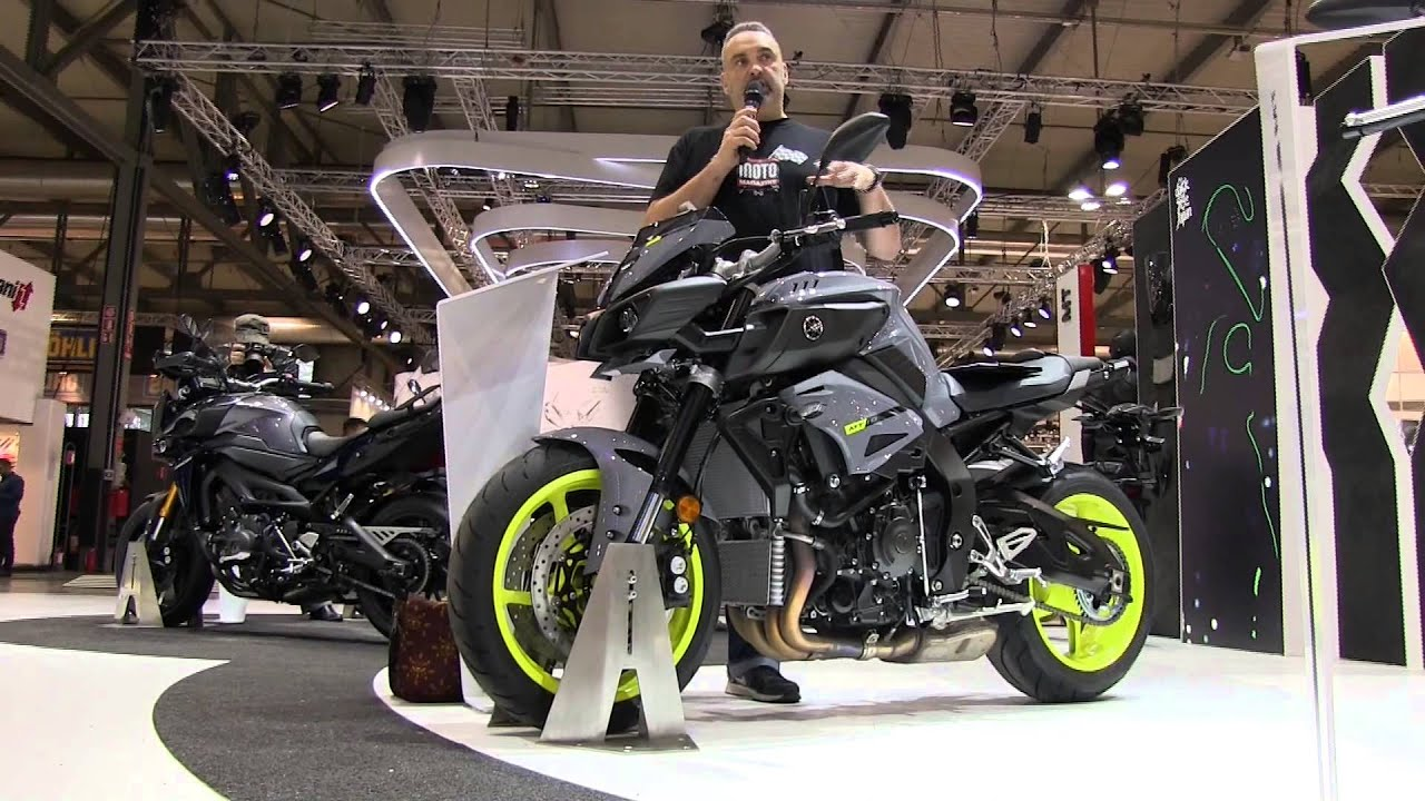 yamaha mt 10 yamaha xsr les nouveaut s moto 2016 du salon de milan 2015 youtube. Black Bedroom Furniture Sets. Home Design Ideas