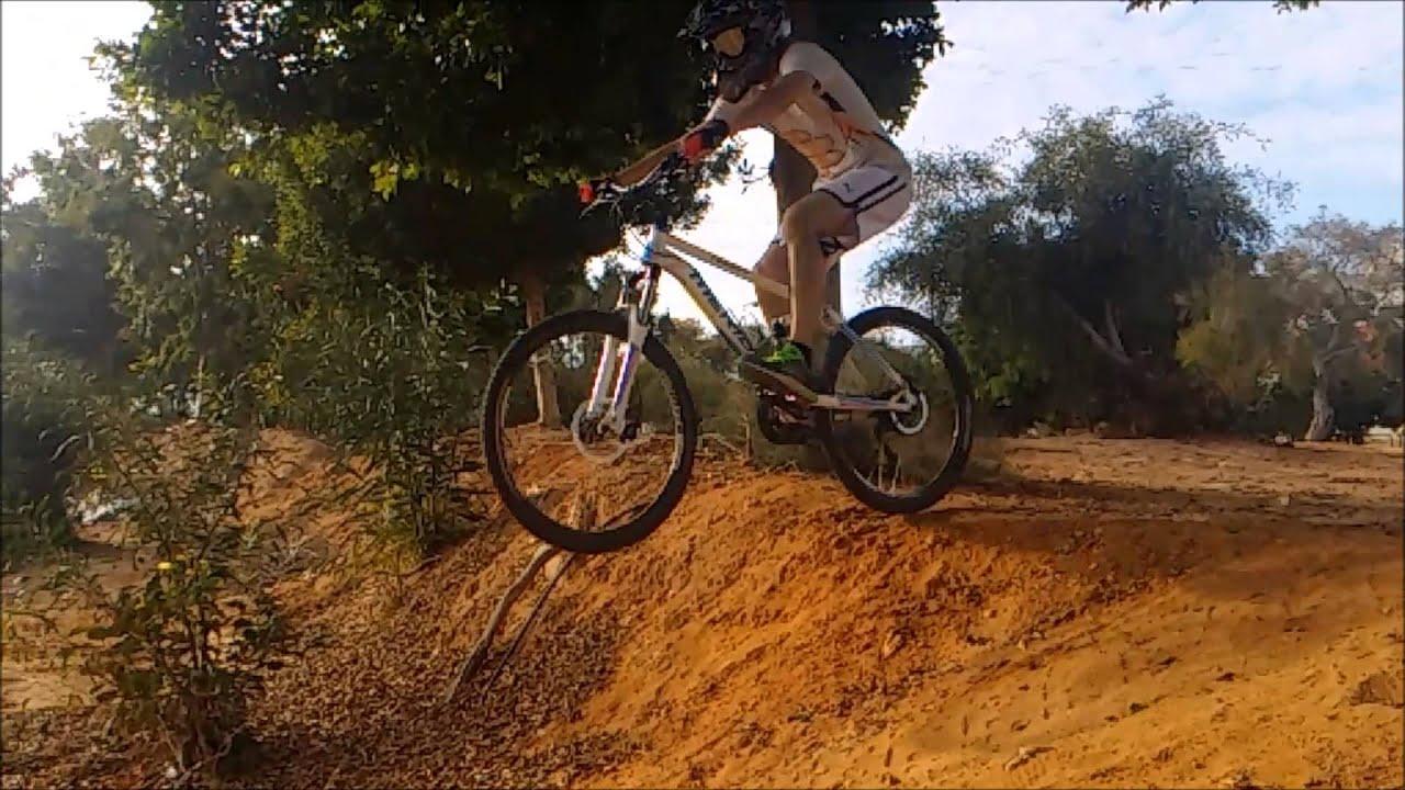 Mountain Bike Jump Anonymous Mask Epic Mtb Freeride Youtube