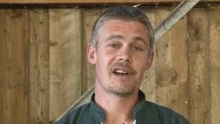 Portrait de Damien Moularat, éleveur dans le Cantal
