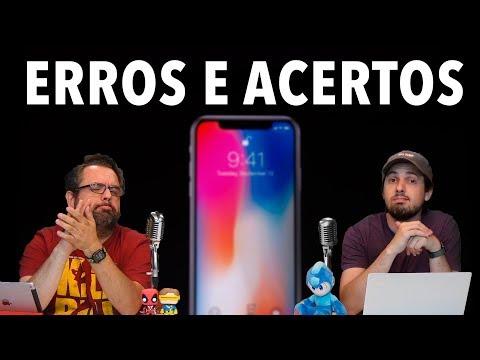 10 ERROS E 10 ACERTOS DA APPLE C0M O iPHONE X