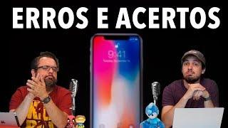 10 ERROS E 10 ACERTOS DA APPLE COM O iPHONE X, 8 e WATCH III