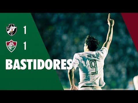FluTV - Bastidores - Vasco 1 x 1 Fluminense - Campeonato Brasileiro