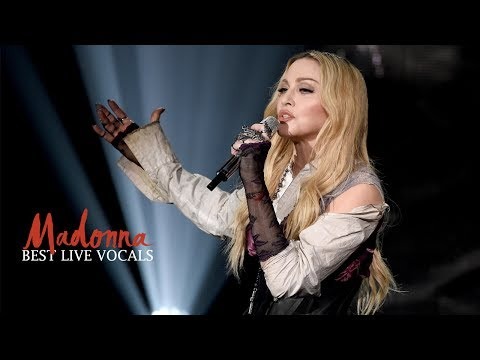 Madonna's Best Live Vocals