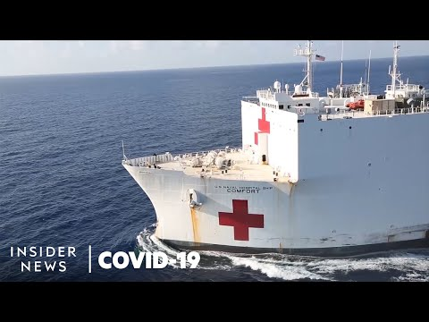 Why The US Navy Ship Hospital Wasn't Meant For Coronavirus Patients | Beyond The Headlines