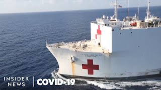 Why The US Navy Ship Hospital Wasn't Meant For Coronavirus Patients