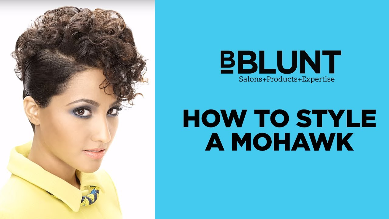 How to style a mohawk hair cut for women bblunt do it myself youtube how to style a mohawk hair cut for women bblunt do it myself solutioingenieria Images
