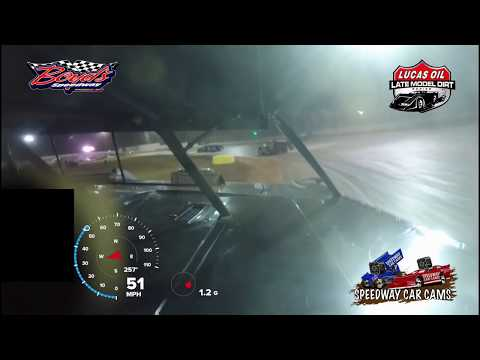 #0 Scott Bloomquist - Lucas Oil Super Late Model - 3-23-18 Boyd's Speedway - In Car Camera