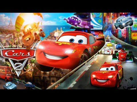 Disney Pxar Cars 2 - World Grand Prix Read and Race- Lighting McQueen Cars Toon