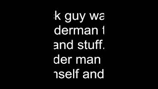 Muslim Spider-man fights a black rasist guy (Spider-man fighting racism)