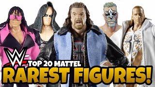 RAREST WWE Action Figures Made By Mattel