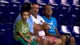 That Marlins Kid Dancing on JumboTron Fan Cam (HD)