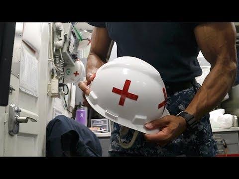 Corpsman Life On A Ship
