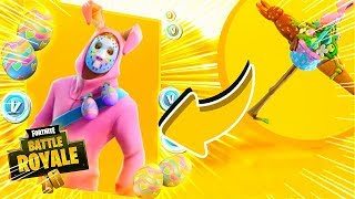 I BOUGHT A RARE SKIN FROM THE KILLER RABBIT AND KILLED TOUT LE MONDE! Fortnite: Bataille Royale