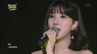 Video 뮤직뱅크 Music Bank in JAKARTA - [SPECIAL STAGE] 은하 (여자친구) - I Remember (EUNHA - I Remeber). 20170930 download MP3, 3GP, MP4, WEBM, AVI, FLV Juni 2018