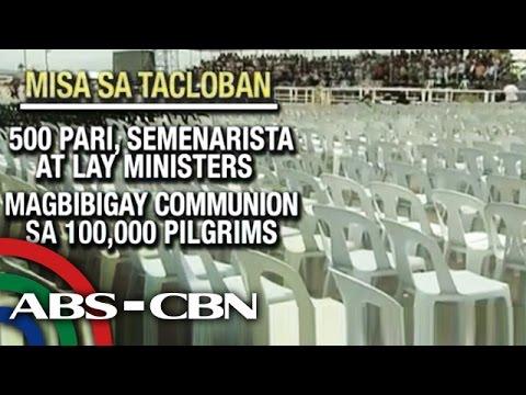 Libo-libong mananampalataya inaasahan sa misa sa Tacloban