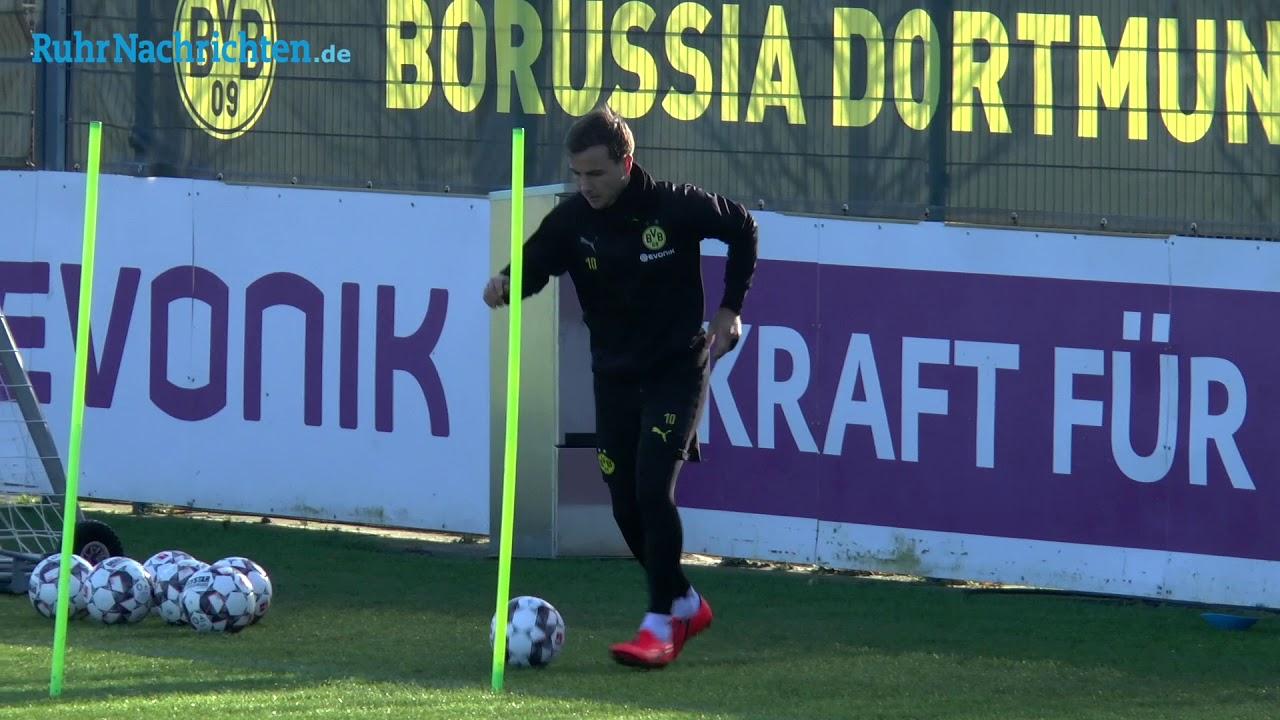 BVB-Training am Tag nach dem Frankfurt-Spiel