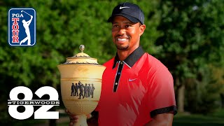 Tiger Woods wins 2013 WGC-Bridgestone Invitational | Chasing 82