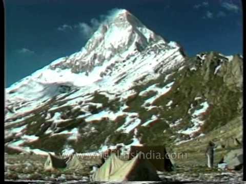Gangotri - Yamunotri Yatra pilgrimage : archival footage